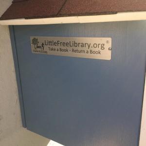 So, jetzt ist das Bücherschränkle offiziell und international anerkannt!