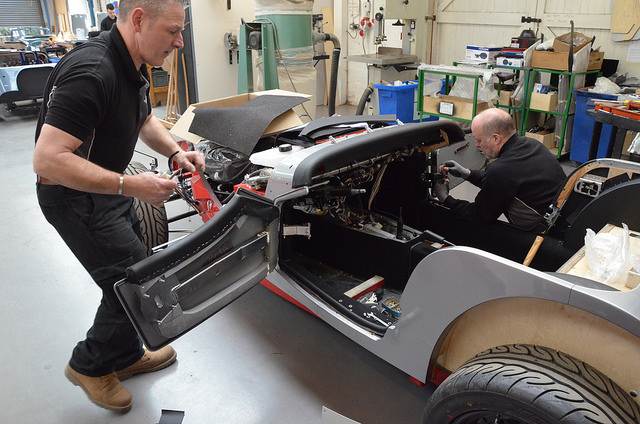 Handarbeit Morgan Motor Company